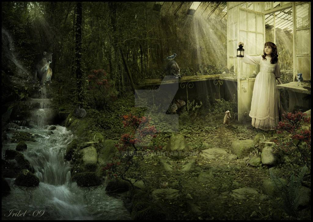 Secret Garden: The Secret Garden By Iribel On DeviantArt