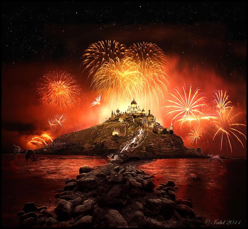 The Fireworks by Iribel