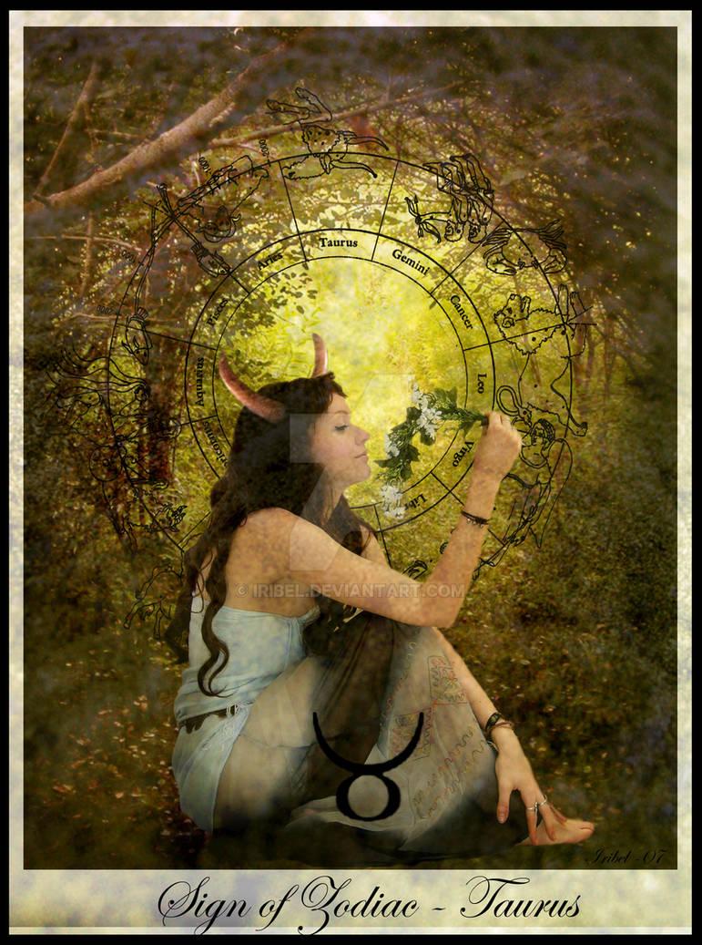 Sign of Zodiac - Taurus by Iribel