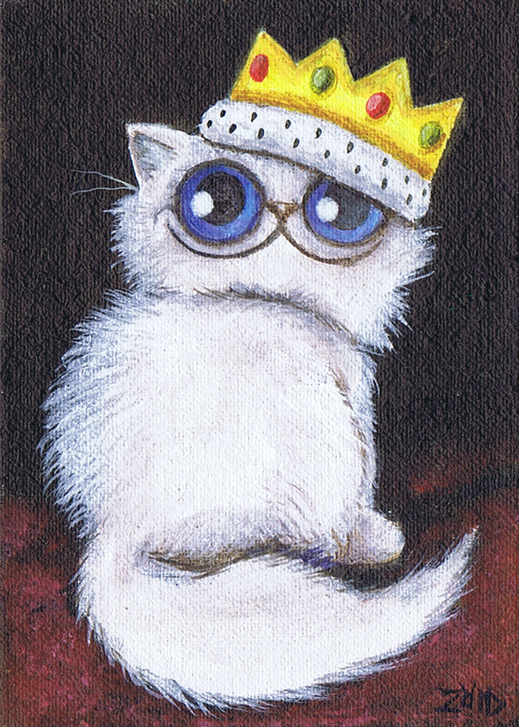 Persian Prince Zoid Funny Cat by KingZoidLord