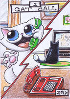 Funny cats Cat dictionary Cat call by KingZoidLord
