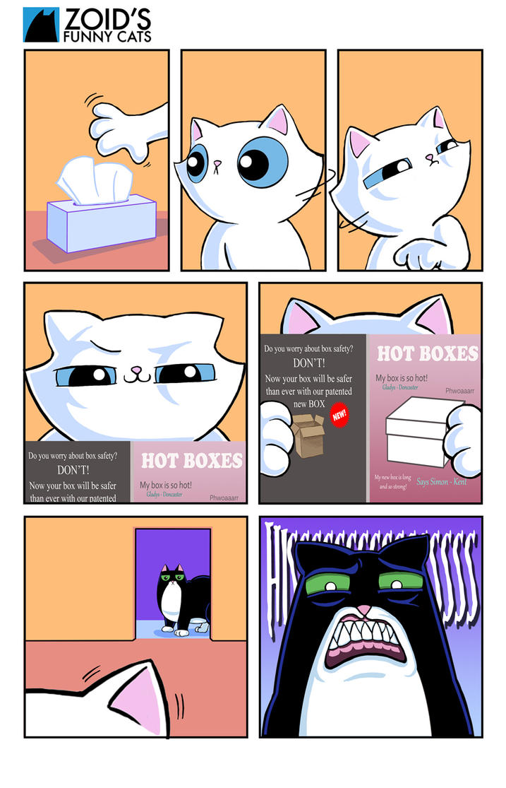 Happy, happy box box page by KingZoidLord