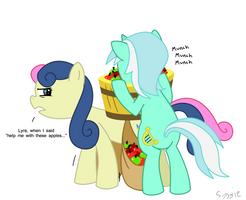 Helpful Pony by Syggie