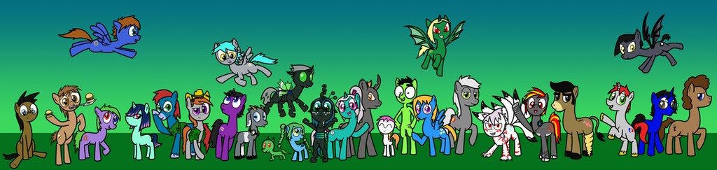 Princess Chrysalis's Followers by Syggie