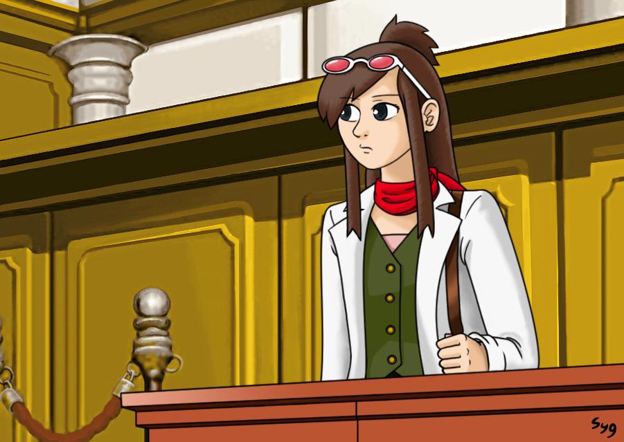 Prosecutor Ema Skye by Syggie