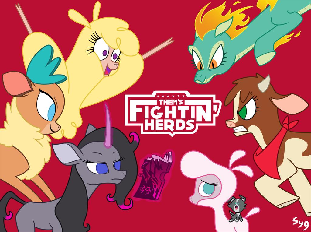 Them's Fightin' Herds! by Syggie