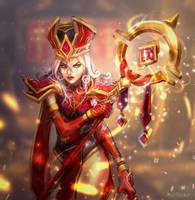 Scarlet Aegis by Aurillador