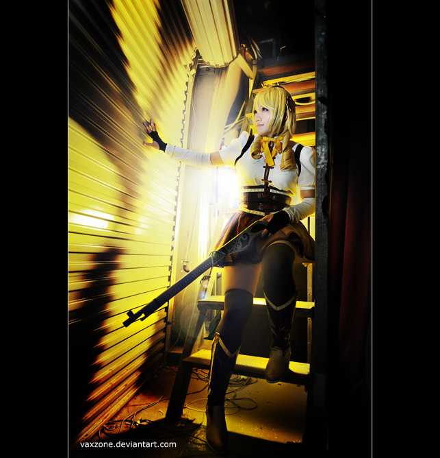 Mami, behind the enemy line by vaxzone