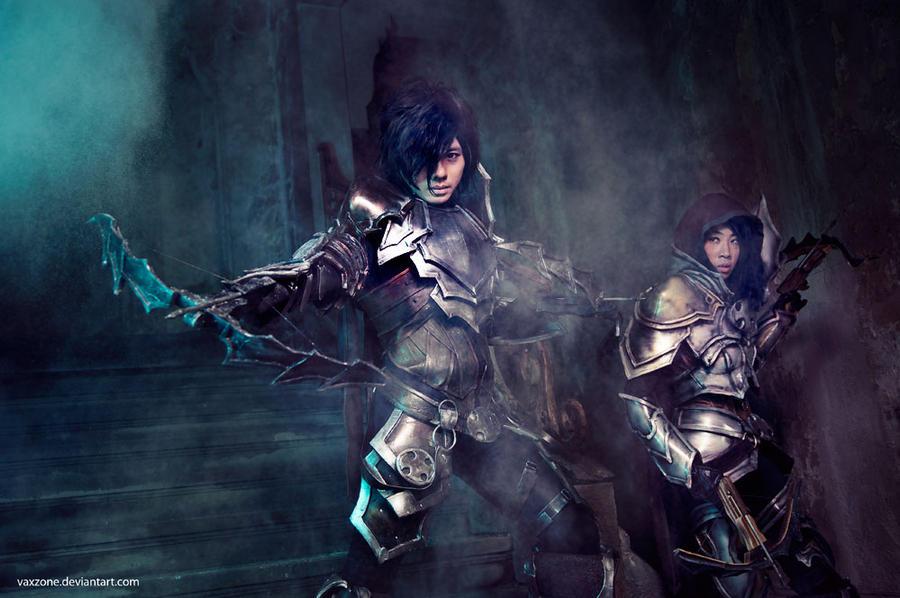 Cosplays Demon Hunters de Diablo III