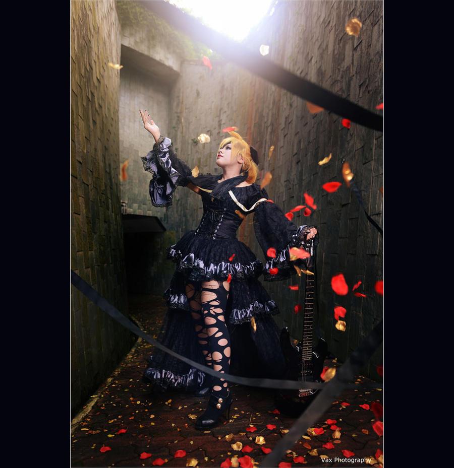 Kagamine Len - IMITATION BLACK by vaxzone