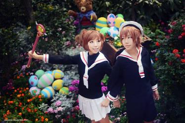 Cardcaptor Sakura - First Date by vaxzone