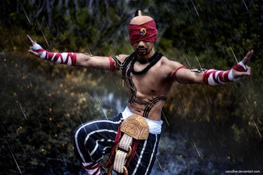 League of Legends - The Blind Monk by vaxzone