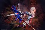 Final Fantasy XIII-2: Serah in Battle