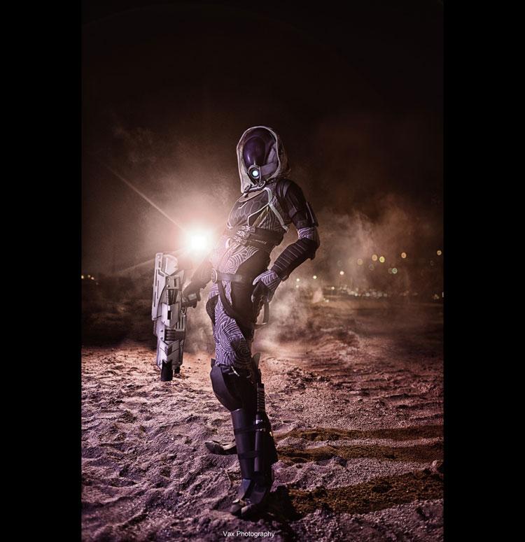 Mass Effect - Tali'zorah by vaxzone