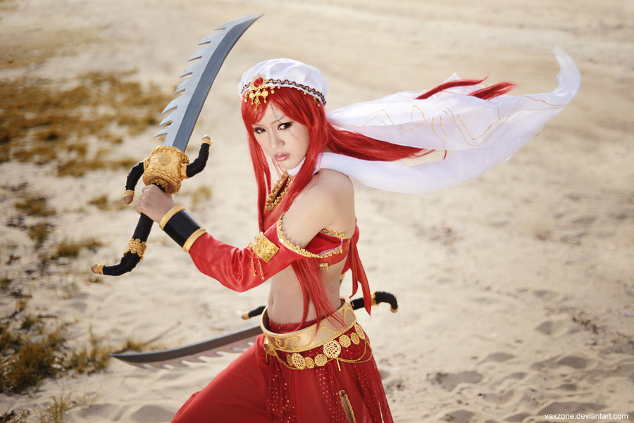 League of Legends - The Sandstorm Assassin by vaxzone