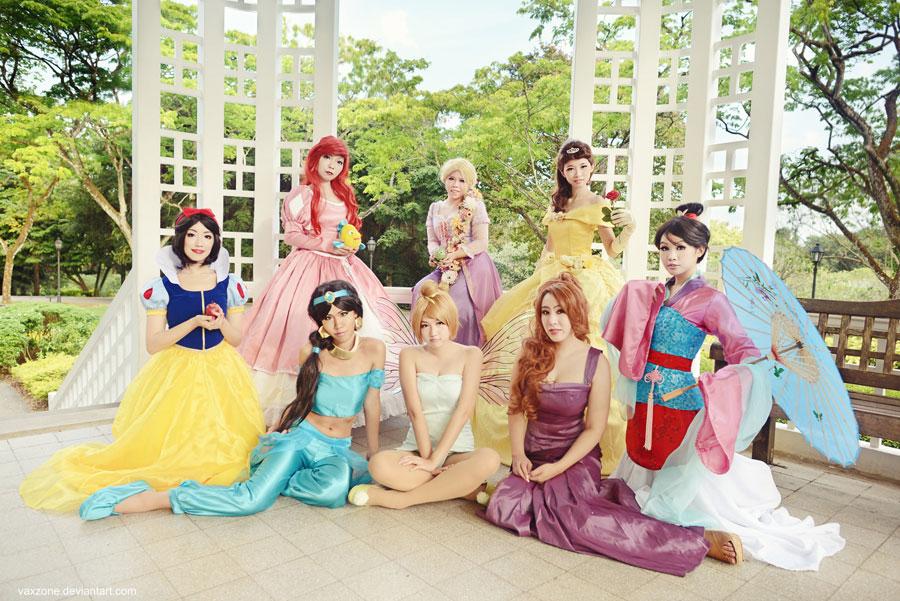 Disney Princess by vaxzone