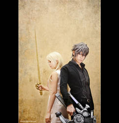 Final Fantasy XV - Noctis n Stella by vaxzone
