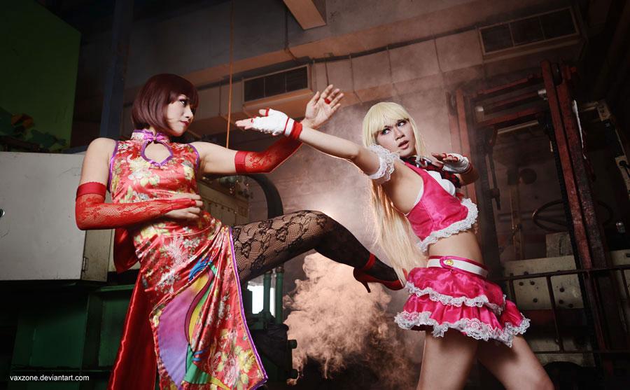 Anna vs Lili- Fight! by vaxzone