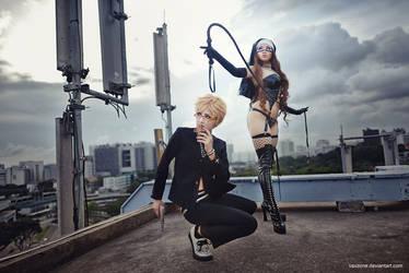 Zone 00 - Shima and Hanabusa by vaxzone