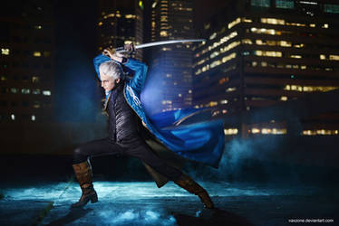 Vergil - The Master Swordsman by vaxzone