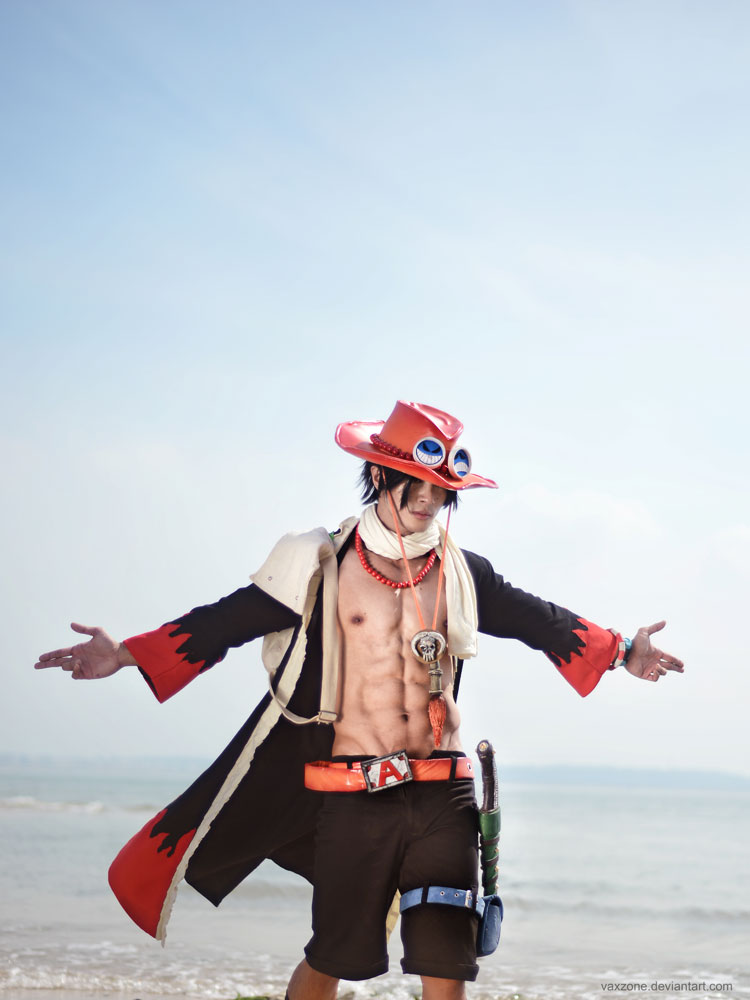 One Piece - ACE by vaxzone