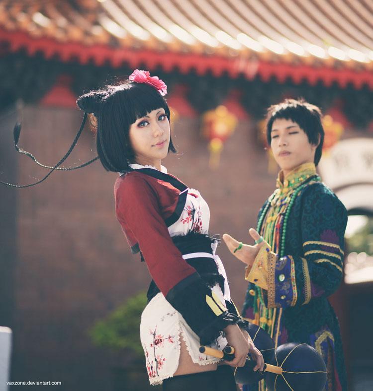 Kuroshitsuji - Lau x Ran Mao 01 by vaxzone
