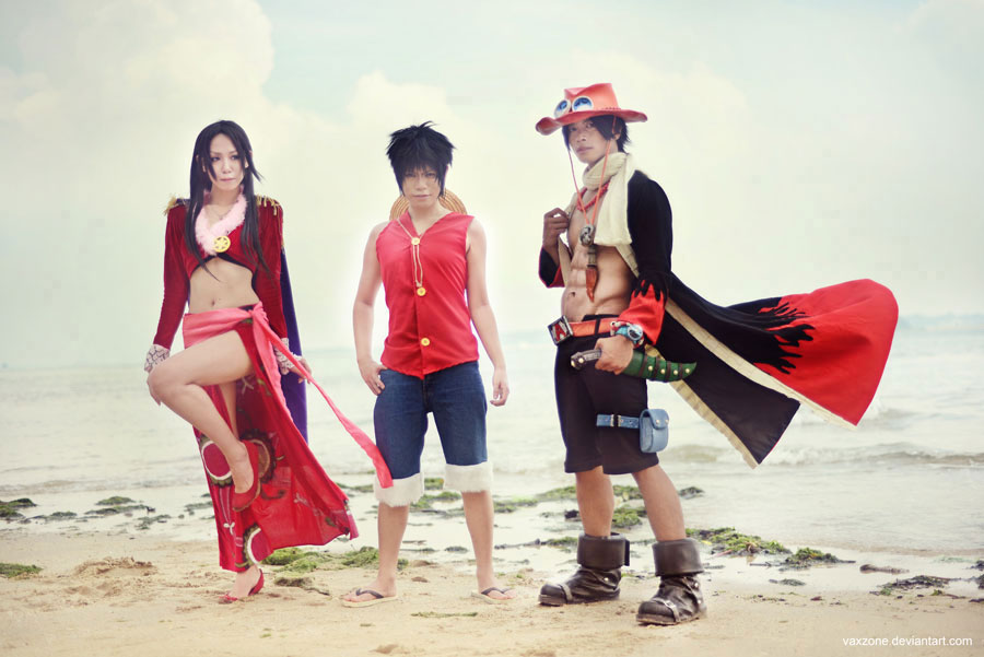 One Piece - Strong Team by vaxzone