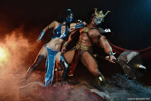 Mortal Kombat - Kitana vs Shao Kahn