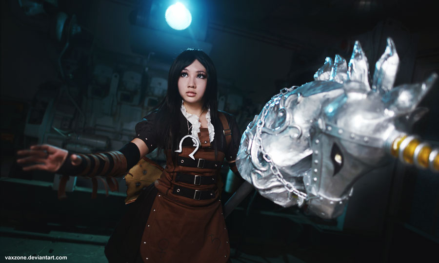 Steampunk Alice by vaxzone