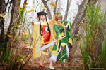 Syaoran n Meilin: Time to capture cards