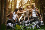 Attack on Titan - To the battlefield