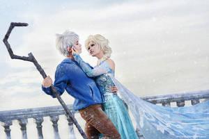 Jack x Elsa by vaxzone