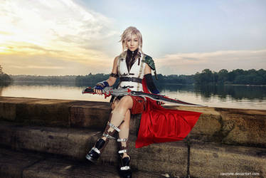 Final Fantasy XIII - Lightning 01 by vaxzone