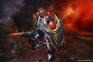 Dota 2 - Dragon Knight by vaxzone