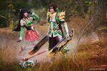 DW8 - Guan Xing n Guan Yinping