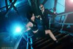 Final Fantasy VII - Tifa Lockhart + Rude