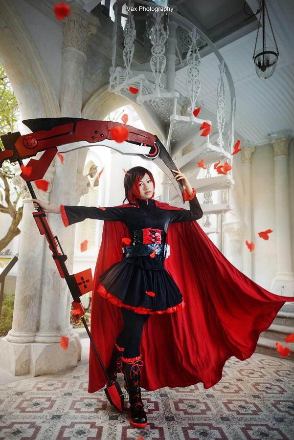 Rwby Ruby Rose Costume Rwby Red Trailer Ruby Rose Full Set Cosplay