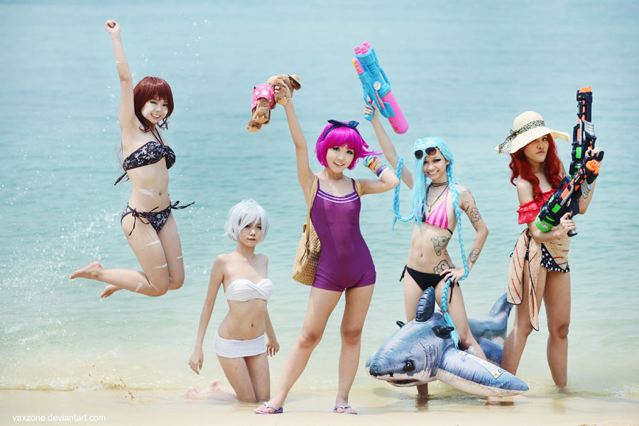 League of Legends - 5 v 5 Beach Game Ready by vaxzone