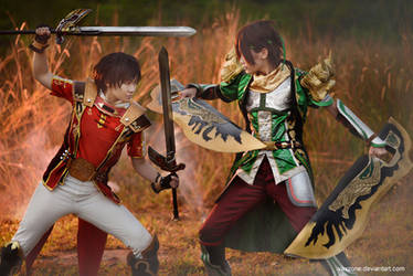 Dynasty Warrior 8 - Lu Xun vs Guan Xing