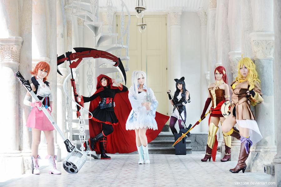 Girls Team by vaxzone