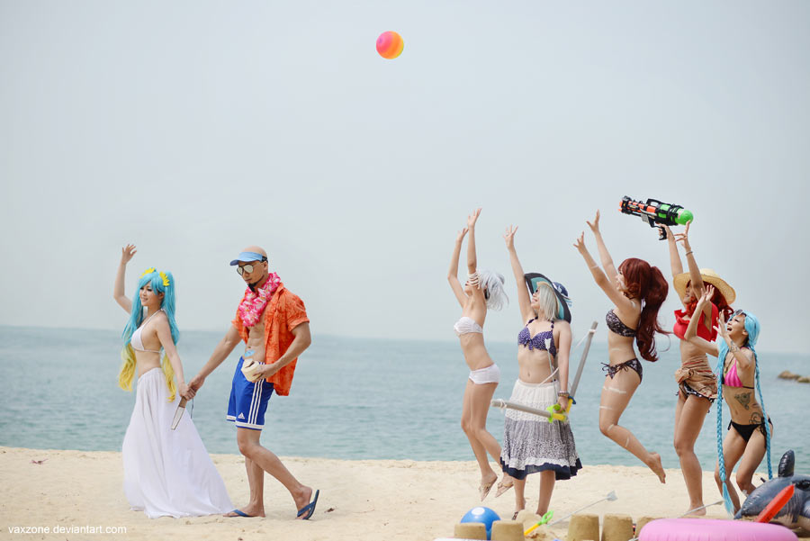 League of Legends - Beach Wedding by vaxzone