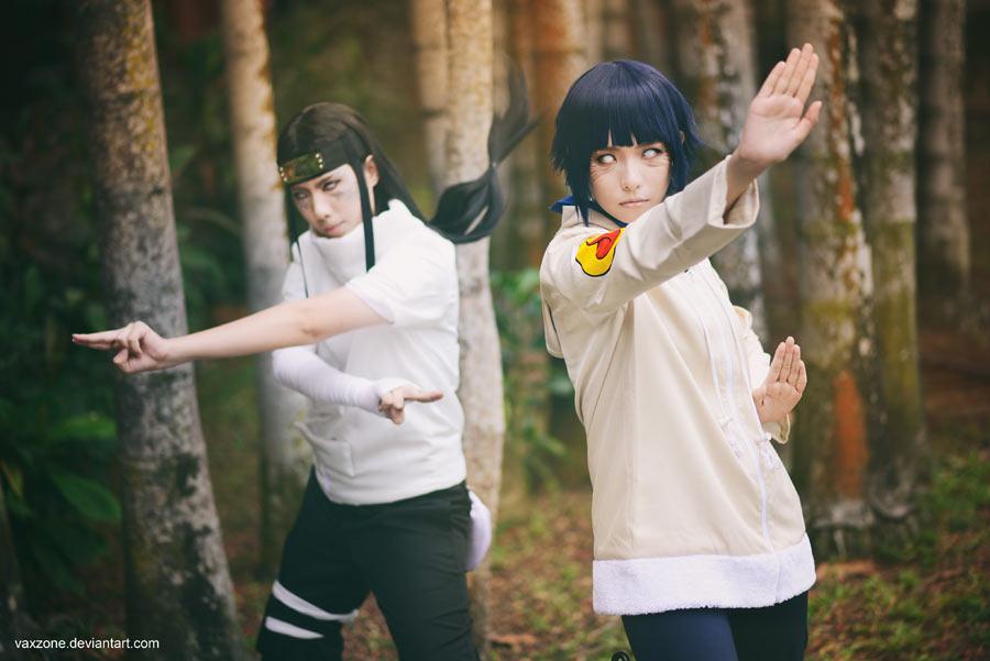 Naruto - Neji n Hinata by vaxzone