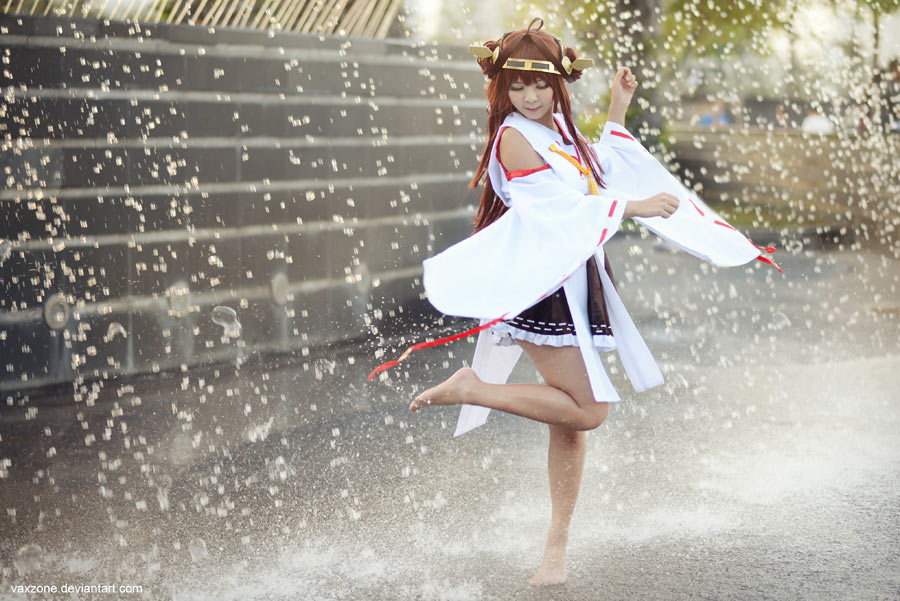 Kantai Collection - Kongou by vaxzone