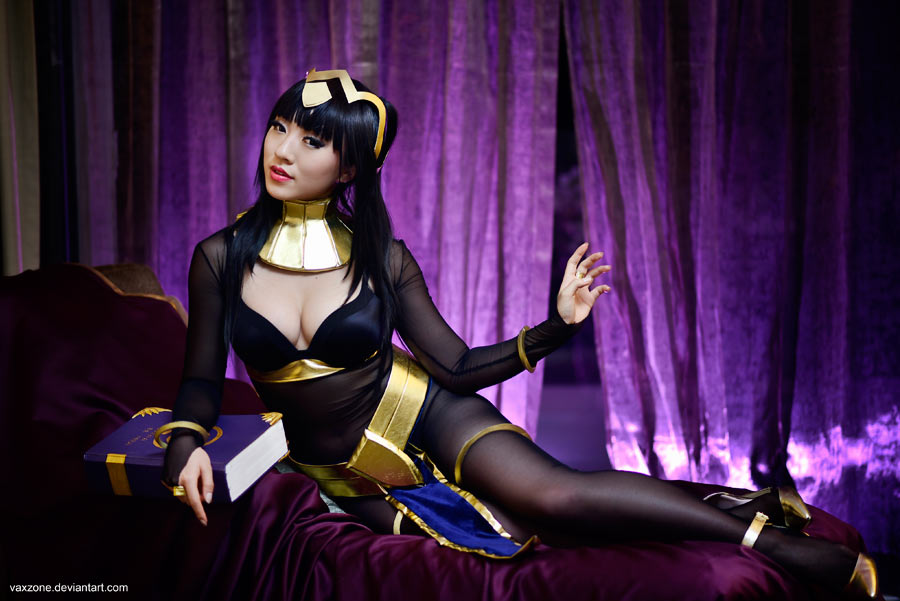 Tharja - The Fire Emblem by vaxzone