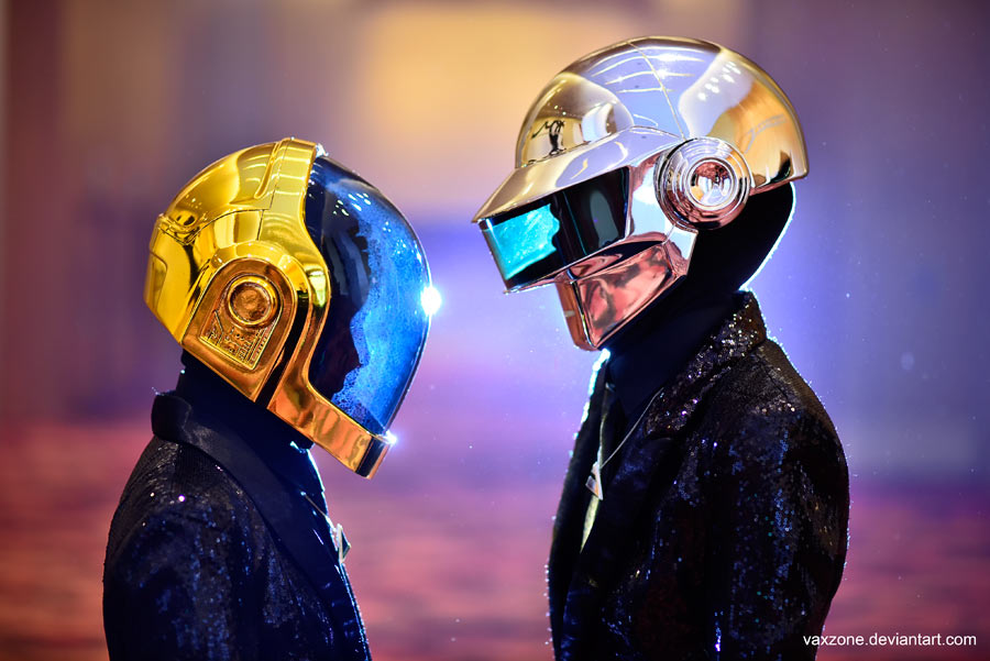 Daft Punk by vaxzone