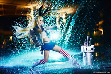Kantai Collection - Shimakaze's Charge by vaxzone
