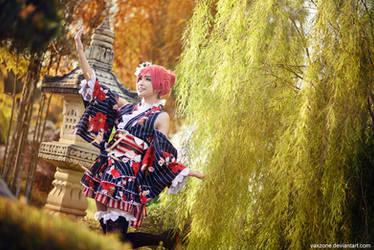 Love Live - Maki Festival Girl by vaxzone