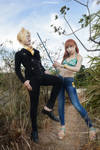 One Piece - Sanji and Nami