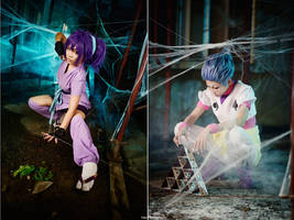 Hunter x Hunter - Machi and Hisoka by vaxzone