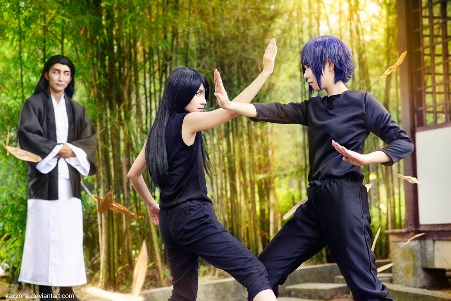 Naruto - Hanabi vs Hinata by vaxzone